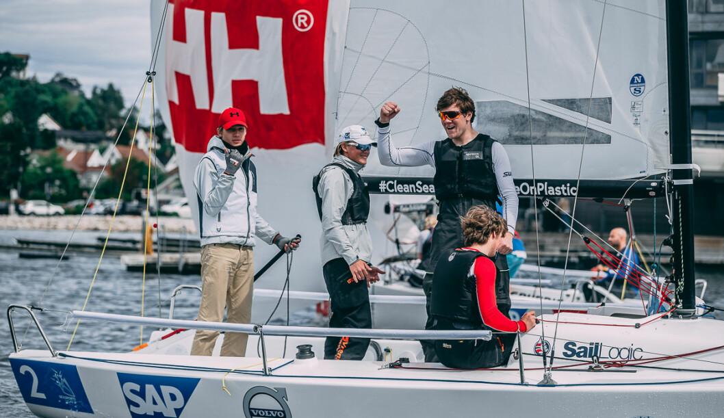 TØNSBERG: Tønsberg Seilforening håper på jubel i Oslo, men stiller med et helt annet lag enn da foreningen kvalifiserte seg til Youth Sailing Champions League.