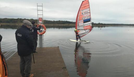 OL-seiler krysset Østersjøen på brett