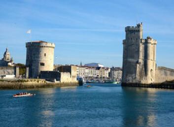 Det er over 300 båtplasser inne i gamlebyen Vieux Port.