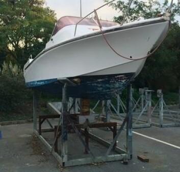 KRYBBE: Du skjønner et det er seilbåter det dreier seg om, når motorbåter står på en slik krybbe.