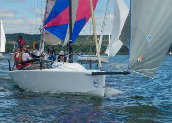 RASK: Melges 24 er den raskeste båttypen i sportsbåtklassen.