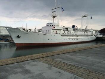 VÆR: «France 1 » ble bygget for å sende værobservasjoner fra Atlanterhavet inn til fastlandet.