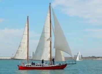 SOLO: «Joshua», båten til Bernard Moitessier.