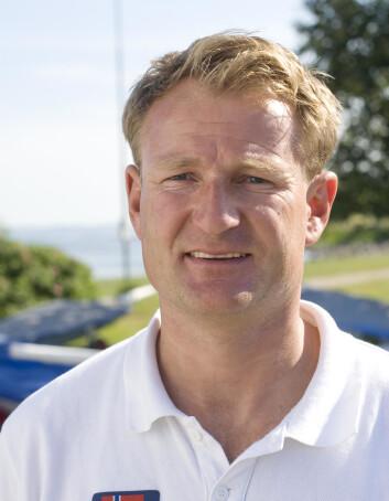 FÆRDER'N: Peer Moberg skal seile en lett og rask 26-foter.