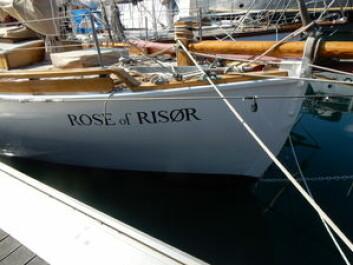 NORSK: Rose of Risør er bygget i Risør etter Colin Archers tegninger.