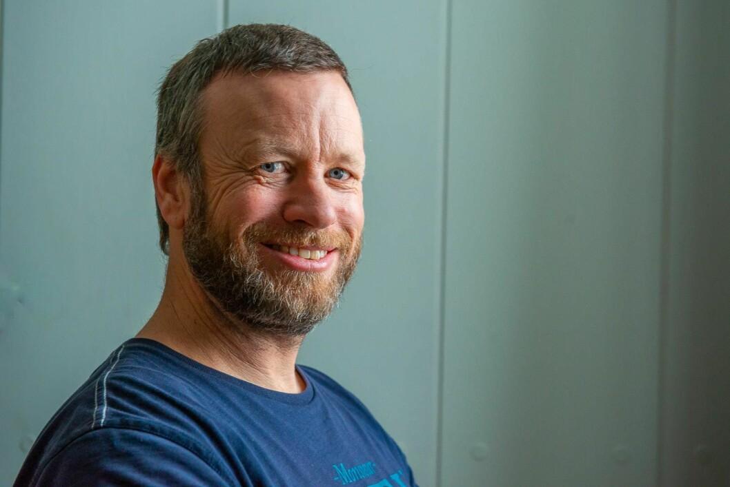 YNGVE LØNMO: Yngve Lønmo har et helt kobbel av seilere bak seg på rankingen som er ute etter å ta ham igjen i Færderseilasen.