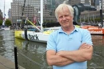 KLAR: Pieter Heerema er ingen typisk Vendee Globe-seiler, men har erfaring fra proff-seiling.