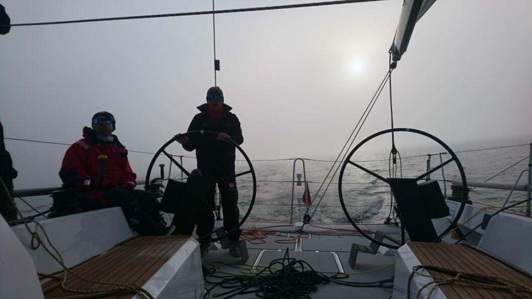 «Proxflyer» i tåkehavet syd for Bolærne