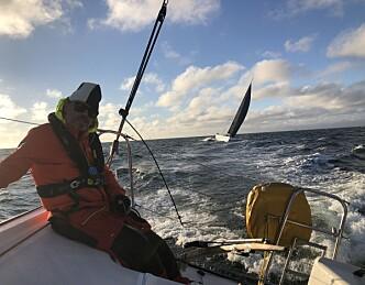 Mye tekniske problemer for seilerne
