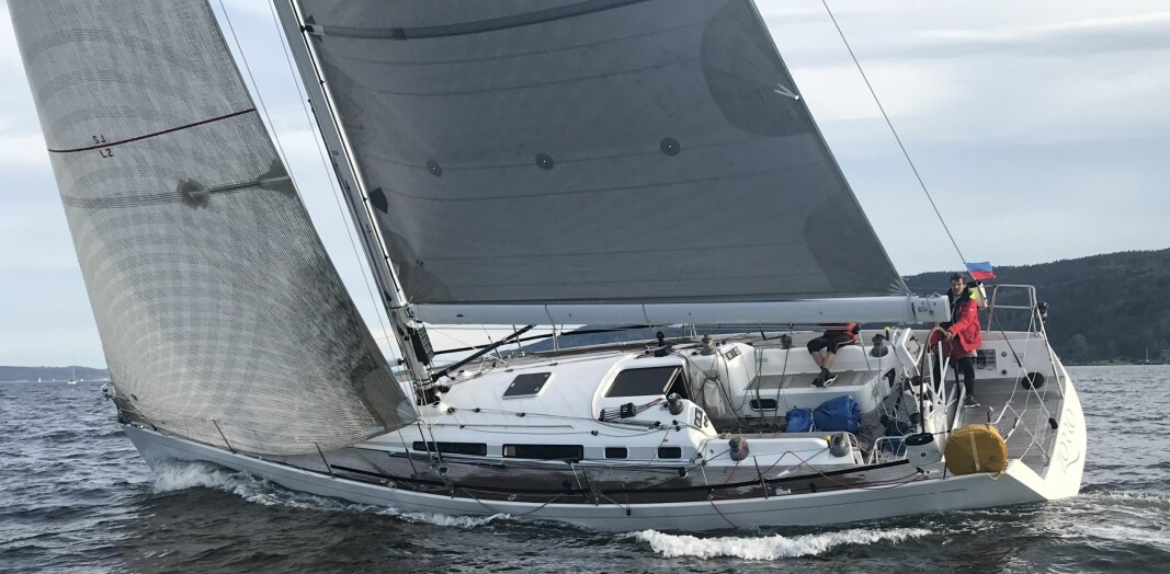 ZORRO: Thomas Robberstad har seilt inn mange rankingpoeng med sin Swan 45.