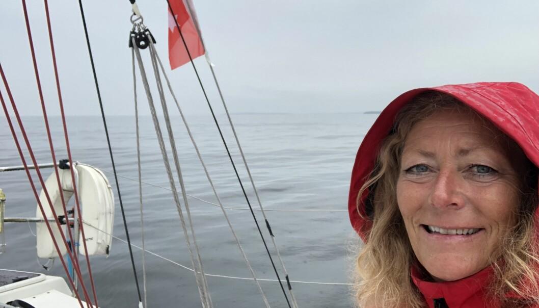 Eira Naustvik i Cruella deVil traff en stake i betydelig sterkere vind enn da bildet her ble tatt