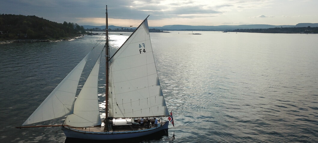Norges eldste regattabåt