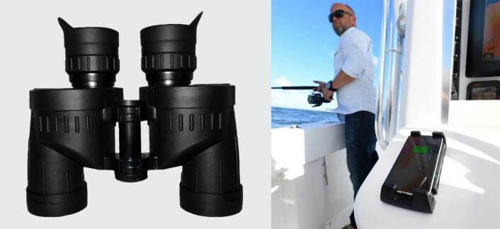 PREMIER: Breitler Navy US 8x30 kikkert til 3995,- kroner og canstrut ROKK Wireless Active til 1299,-