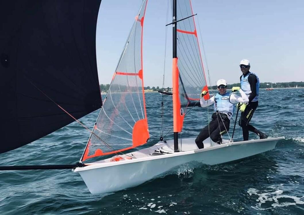Mathias Berthet og Alexander Franks-Penty best i Kiel