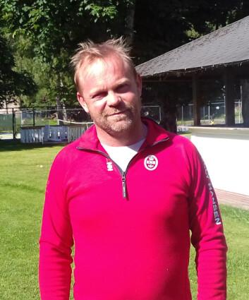 HANKØ: Mikkel Thommessen har snakket med Anders Kristensen  en hektisk, midt oppe i Hankø Race Week.