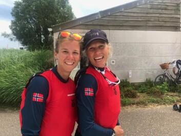 Anette Melsom Myhre og Anna-Sofia Gregersson, sølv i EM
