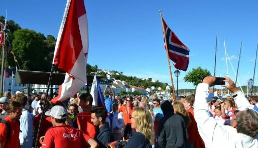 Parade og folkefest i Risør