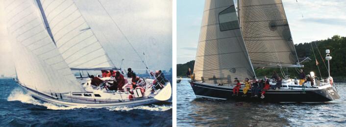 IKONER: Stilen til Swan ble skapt med Swan 48 fra 1971. Modellen fra 1995 var den gang moderne.