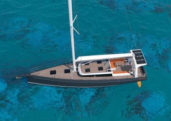 RASK: 48 foteren blir bygget i karbonfiber og veier bare 11,4 tonn.