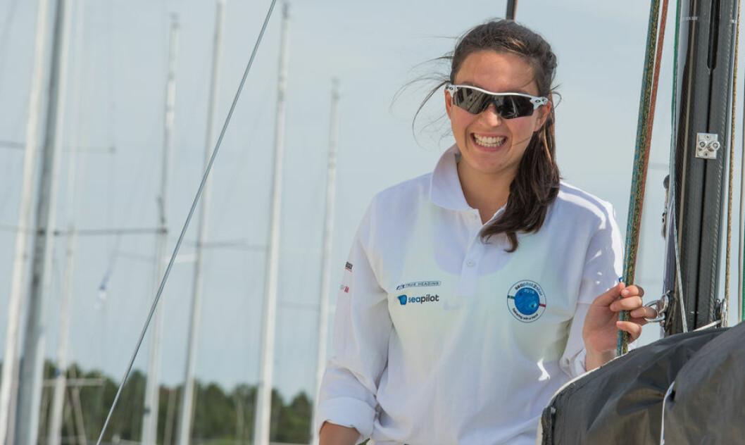 ÅRETS SHORTHANDED-SEILER: Christine Walder ligger best an til å bli Årets kvinnelige Shorthanded-seiler.