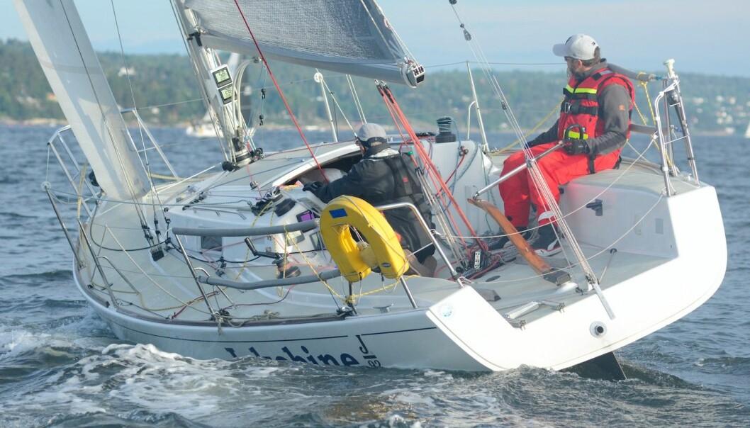 HURUM I TET: Yngve og Asbjørn Lønmo har sørget for mange poeng til Hurum Seilforening. Foreningen er klart best av alle seilforeningene i landet.