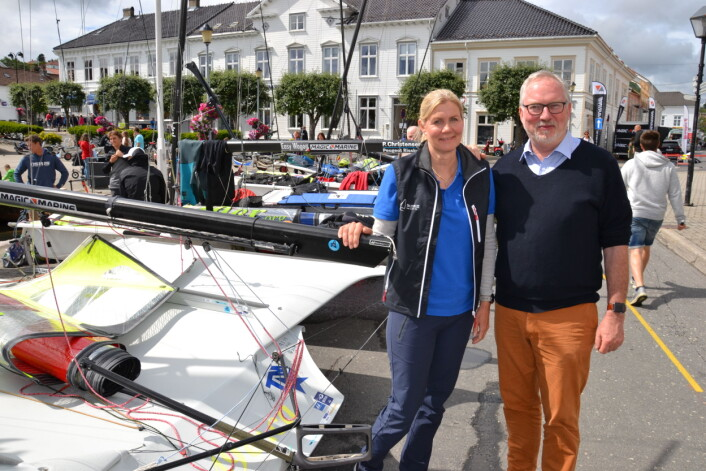 Anne Wichstrøm og Per Kr. Lunden