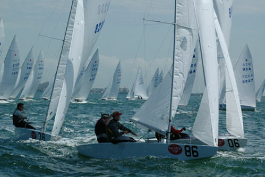 Stargutta klare for siste regatta i Miami