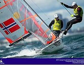 Mot norsk VM gull i 29er