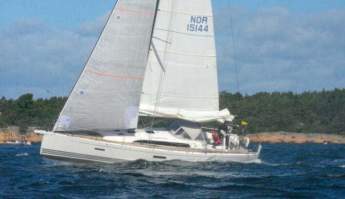 XP44. «Born to run» er en 44-fots X-Yachts.