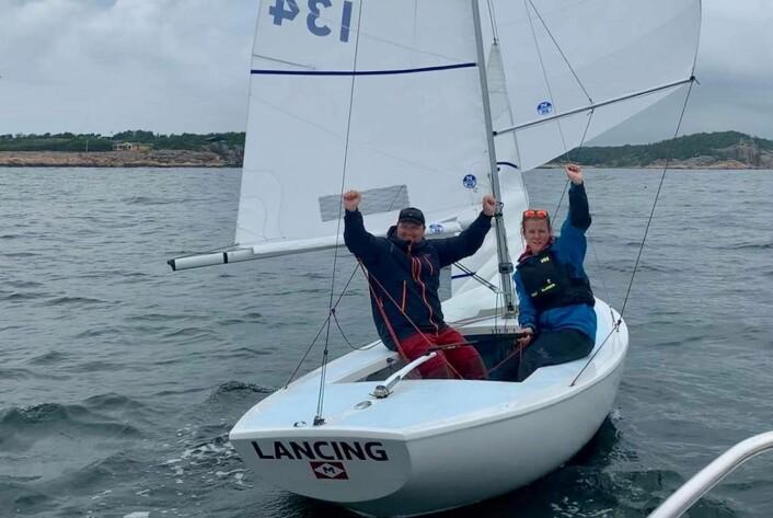 Anette Melsom Myhre og Magnus Hedemark, NM vinnere 2019