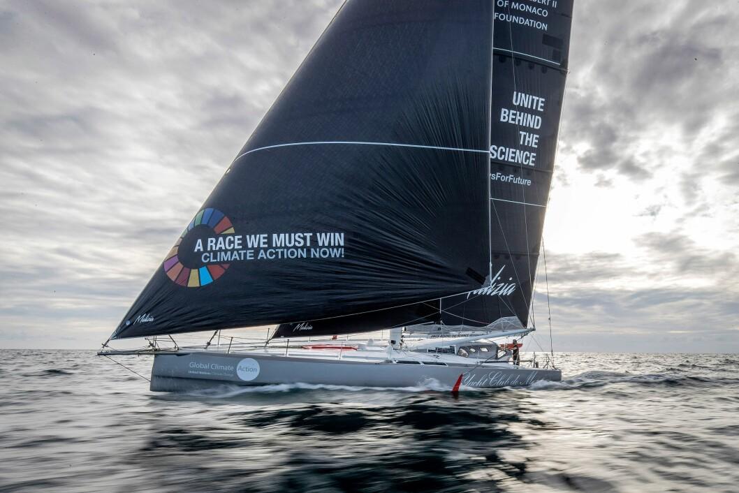 IMOCA. Greta Thunberg skal seile en superrask 60-foter over Atlanterhavet.