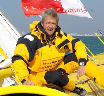 SKIPPER: Østerrikeren Norbert Sedlacek har tidligere seilt Vendee Globe.