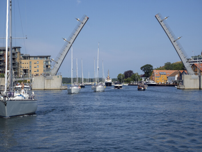 Utseiling fra Tønsberg gjestehavn