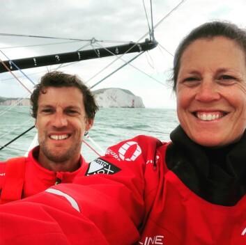 FAVORITT: Sam Davis har fått med seg Paul Meilhat som satser eget Ocean Race-prosjekt.