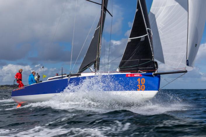 NY: JPK har historikk for topplasseringer i Fastnet Race. Det deltar flere JPK10.30, som er verftets nyeste modell.