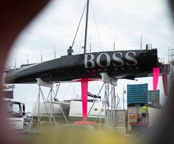 IMOCA: «Hugo Boss» er tredje båt i den nye generasjonen IMOCA-båter som er vist frem. Den er designet av VPLP som «Charal».