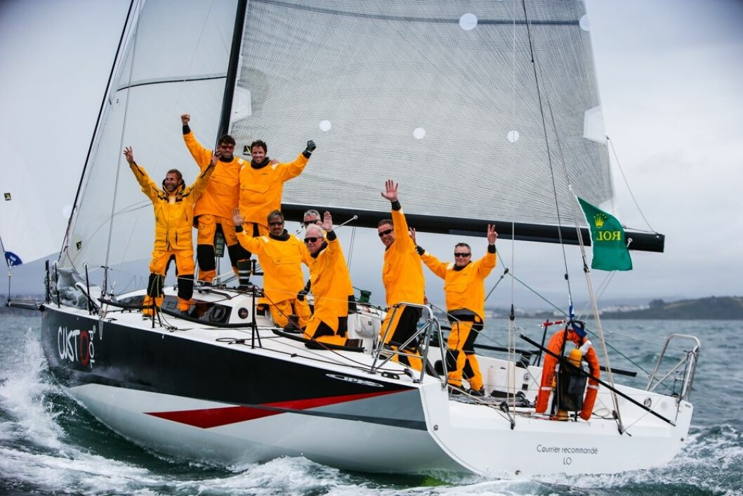 VINNER: JPK11.80 vant IRC2-klassen, samme båt som vant Rolex Middel Sea Race overall i fjor.
