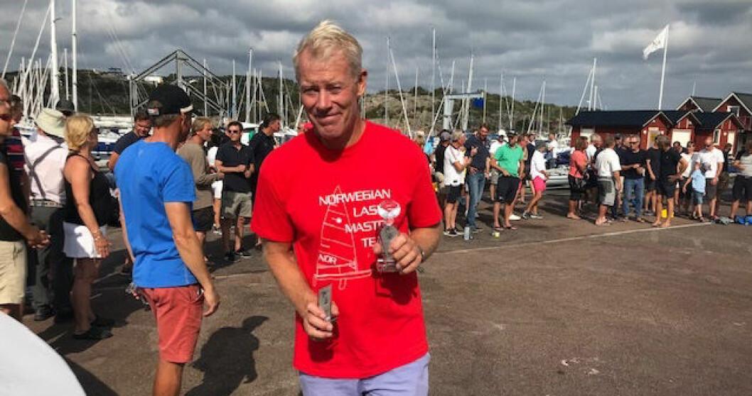 SVENSK MESTER: Per Arne Nilsen ble svensk mester i Laser Master.