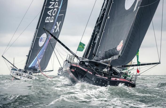 RASKEST: Endelig vant Jeremie Beyou med feltets tøffeste båt, «Charal».