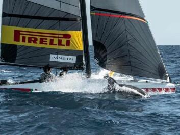 ITALIENSK: Det italienske laget tester også ut teknologien i liten målestokk.