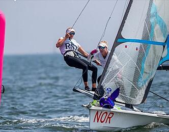 Norske seilere i medaljekampen