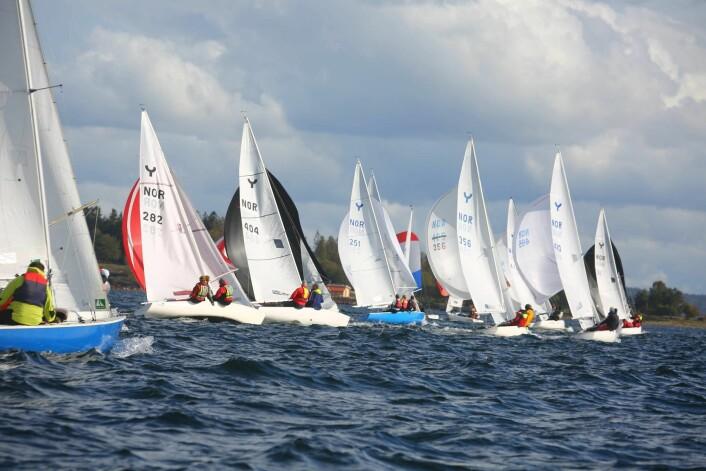 NM: I 2017 var det 17 båter med i NM. Norsk Ynglingklubb håper på flere i år.