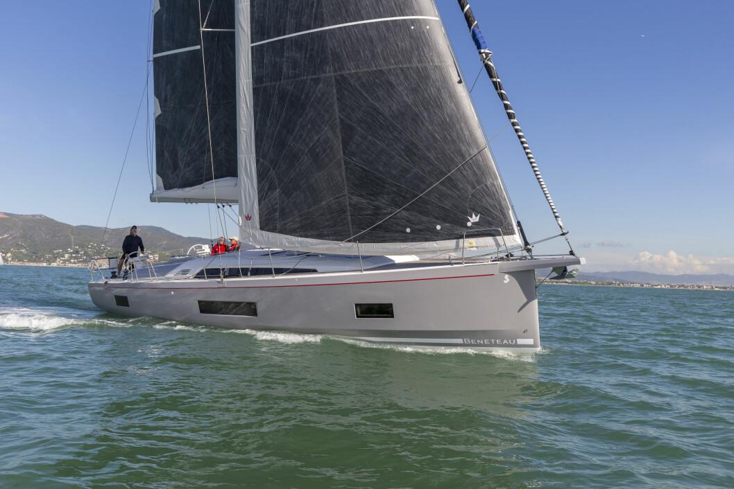 BENETEAU: Oceanis 46.1 er kåret til Årets Båt i Europa for 2019, og kommer til Aker Brygge, men med rullestorseil.
