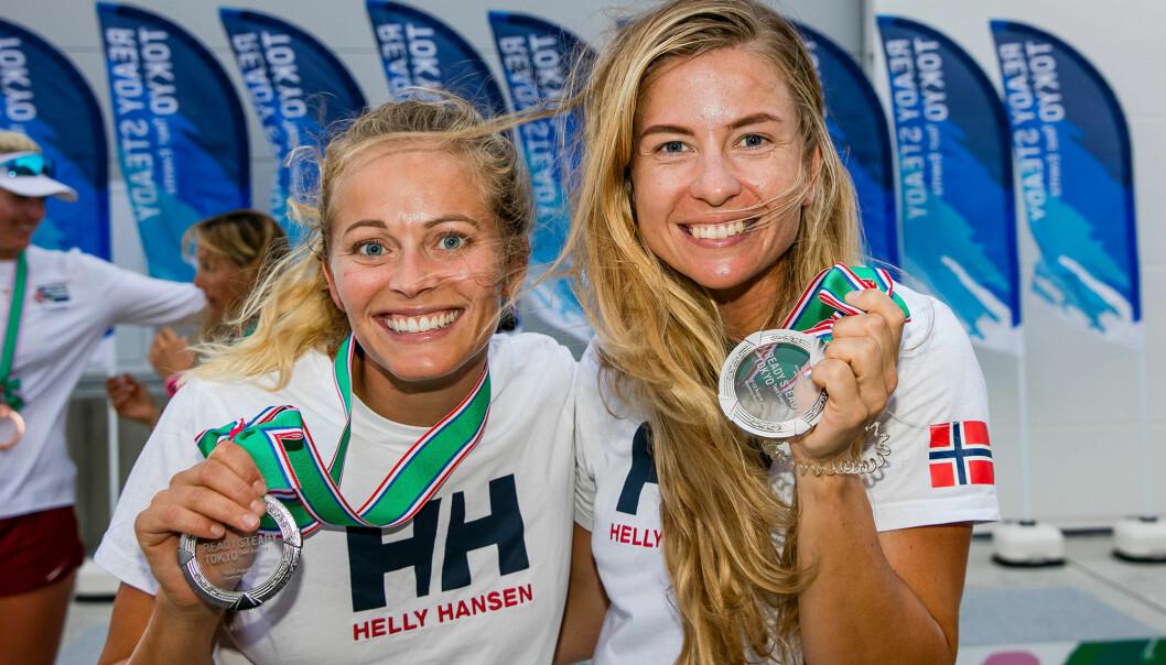 Helene Næss og Marie Rønningen tok sølv i prøve-OL og er nå midt i opptrappingen av forberedelsene til selve OL.