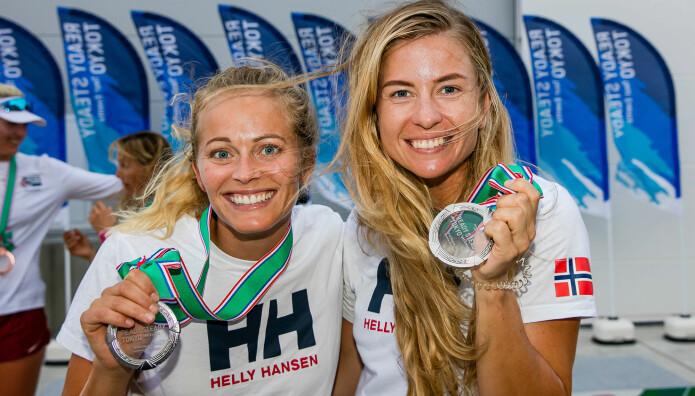 STANG UT: Helene Næss og Marie Rønningen seilte ikke opp til forventningene..