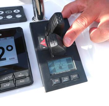 KONTROLL: Sleipners variant med trinnløs fartsjustering av baugpropellene er en etterspurt løsning.