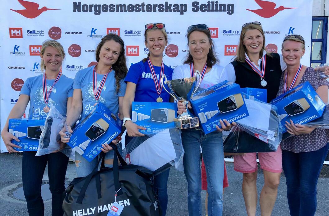 DAME-NM: Flere deltagere ønskes til dame-NM i Snipe kommende helg! Her er premievinnerne i fjorårets NM.