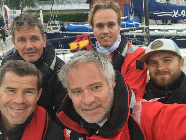 Prospero-laget, Peter Ruzicka, Tinius Ruzicka, Brage Steen, Toralf Valland og Axel Nissen-Lie.