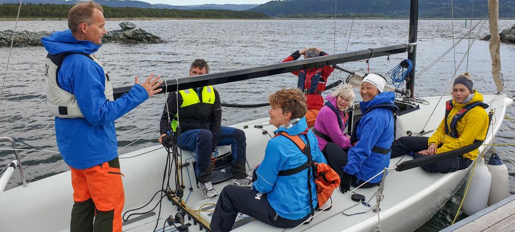 Lokalt næringsliv involveres i seiling