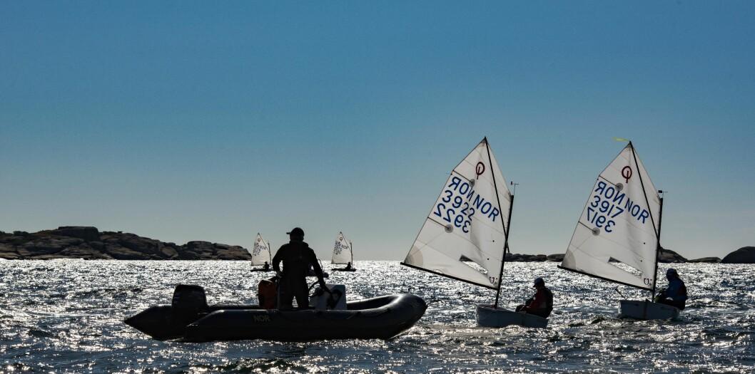TRENER: Norsk seilsport trenger flere trenere, og muligheten til å kunne bli det er nå bedre enn noensinne.